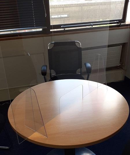 Meeting room screen